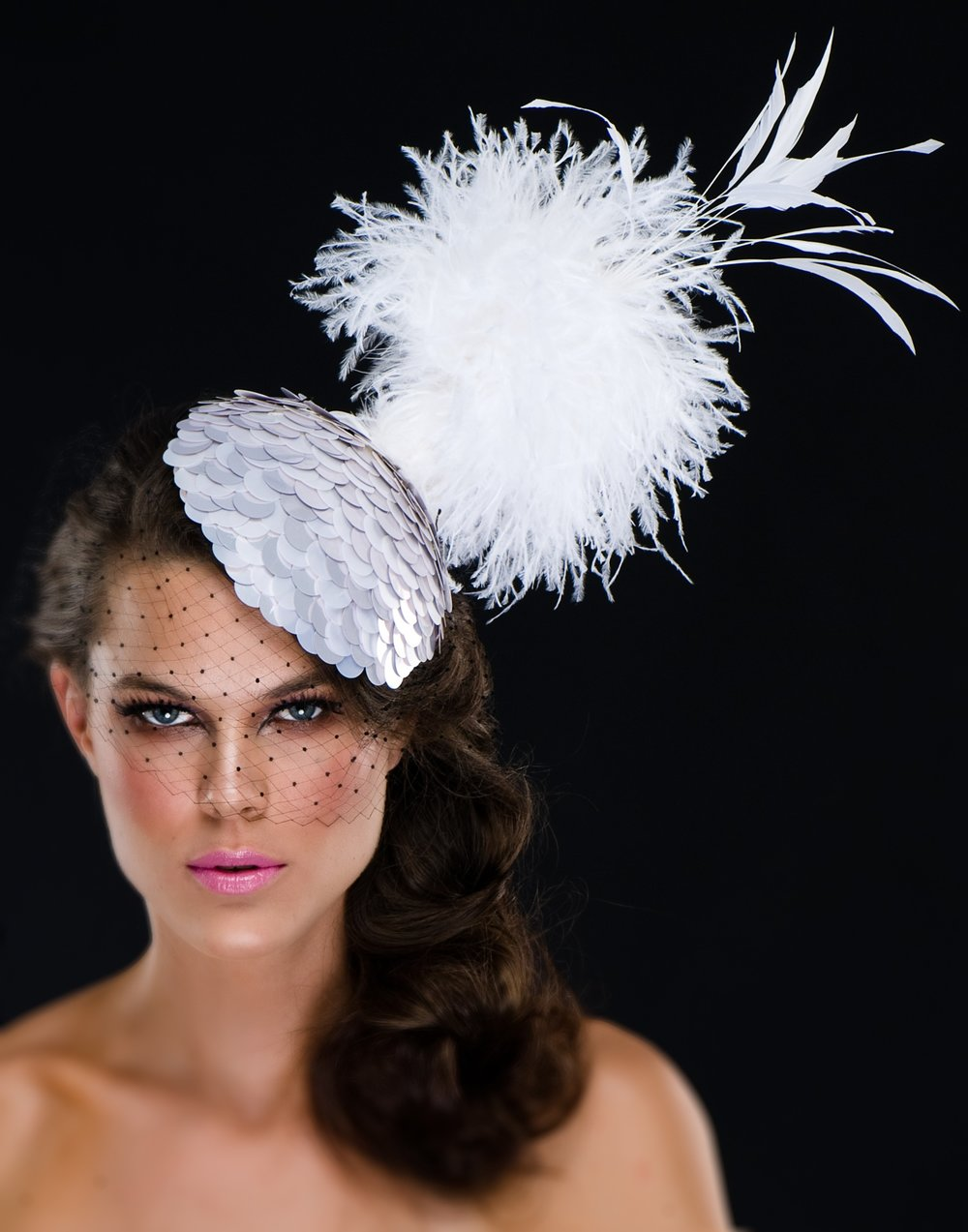 Hat designer: Arturo Rios  Photographer: Mark Sacro