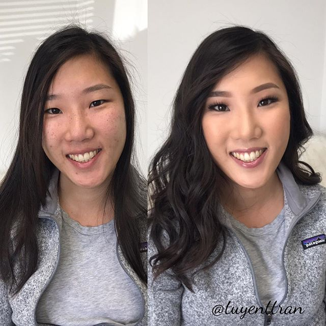 Looking forward to making you up for your wedding tomorrow!! 👰🏻😍😍 #beforeandafter #bridalmakeup #bridetobe #hairandmakeup #hairandmakeupbyme #nofilterneeded #ochairstylist #ocmakeupartist #lamakeupartist #lahairstylist #bridalmua #airbrush #trangformationlashes #tuyenttran