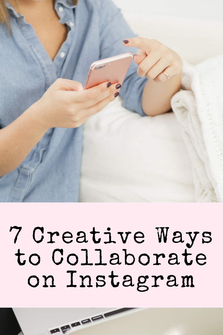 FREE List of Creative Ways to Collaborate on Instagram