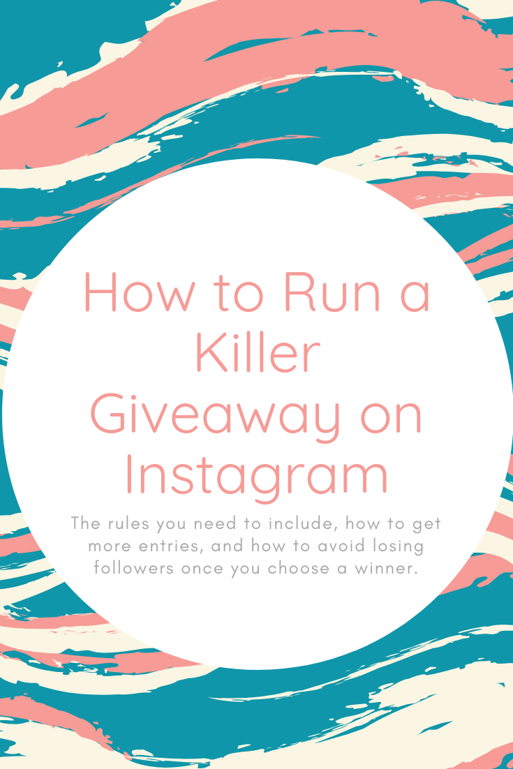 Free Guide to Running an Instagram Giveaway