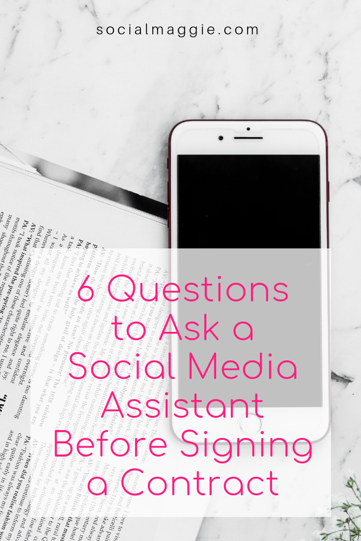 6 easy questions to ask before hiring someone to run your social media!