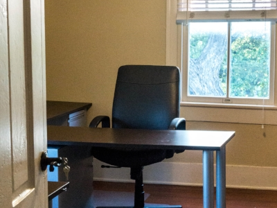 Dedicated Desk$300/MONTH - For when you're ready for a space to call your very own. Your dedicated desk and secure file cabinet are set in a semi-private office. Secure file cabinetSeparate, shared workspace12 conference room creditsKitchen, lounge, & courtyard access24/7 access