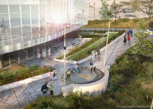 Carnegie Science Center - Nimick Forbesway Foundation Rain Garden