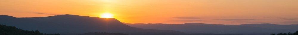 Sunset Over Appalatcia Mountains @ Locky Nimick