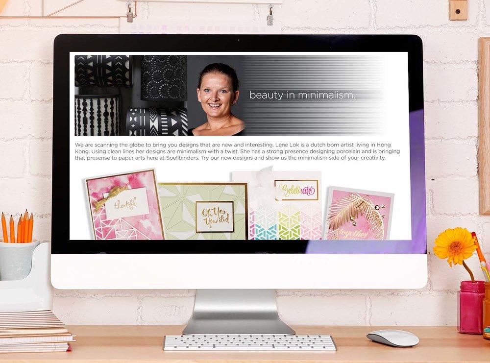 Landing Page: Lene Lok