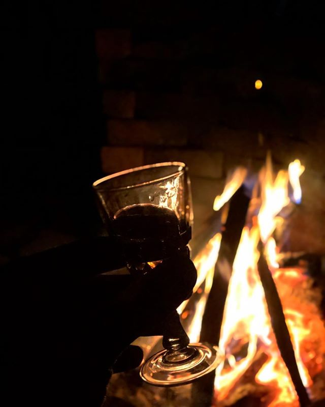 Cheers everyone, here's to being fiery you. You toast my mallows