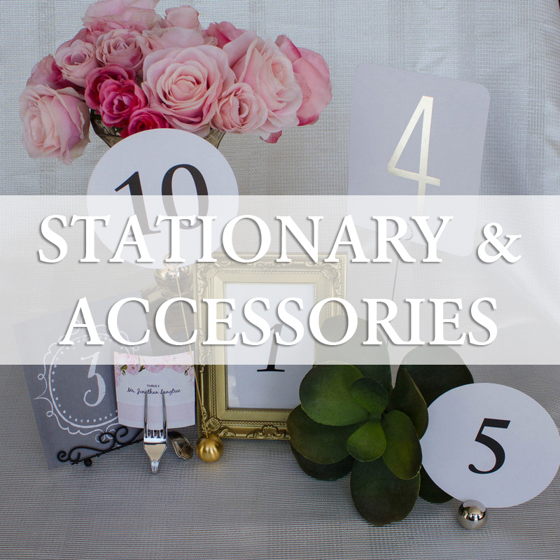 Wedding Stationary and accessories