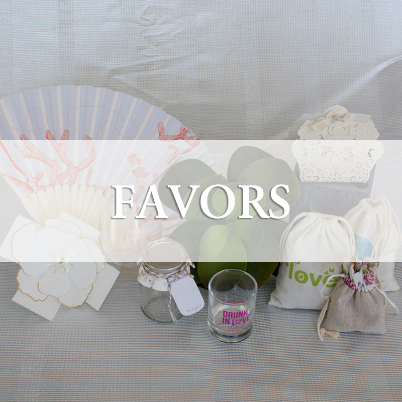 Wedding Favors and Party Favours