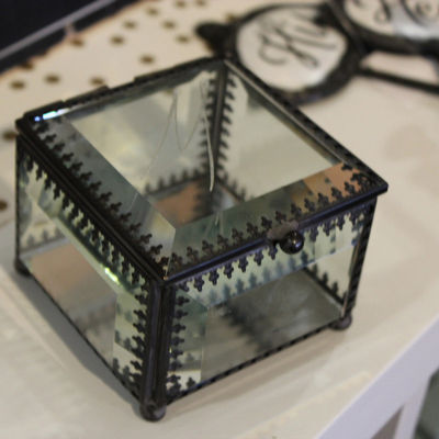 Glass Ring Box