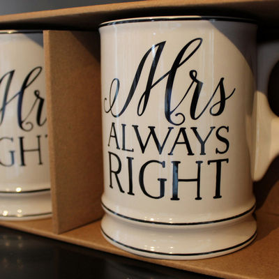 Mr and Mrs Beer Stein