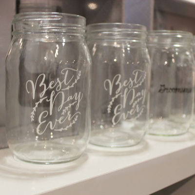 Best Day Ever Mason Jar