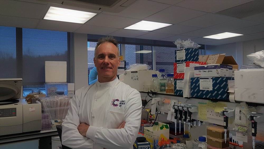 Professor Richard Marais, Director of the Cancer Research UK Manchester Institute, part of The University of Manchester
