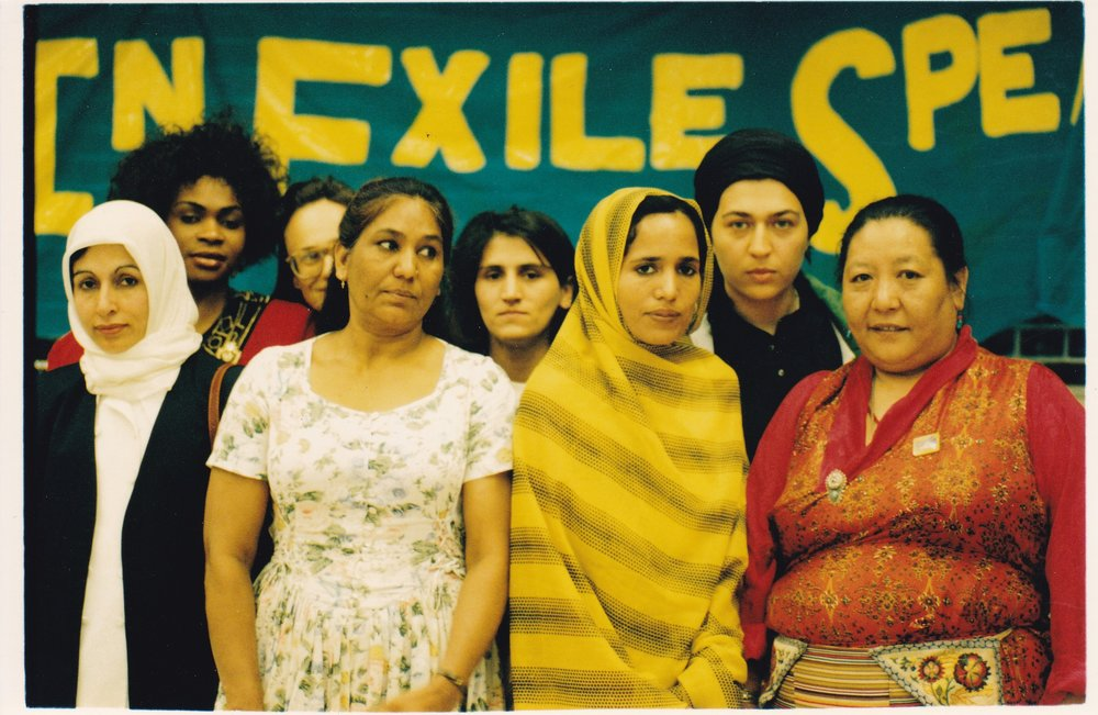 Refugee women at What Women Want, South Bank 1995