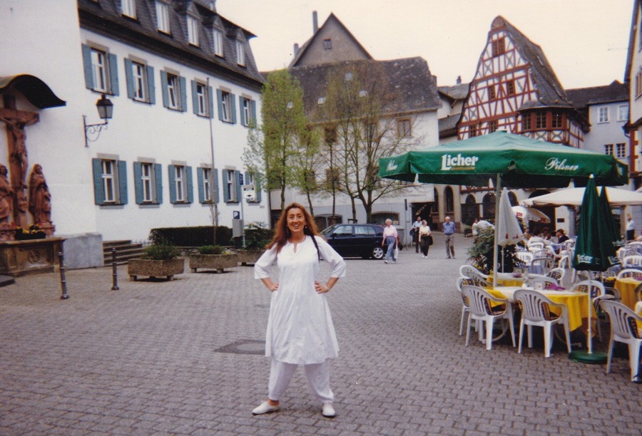 In Germany visiting Mother Meera