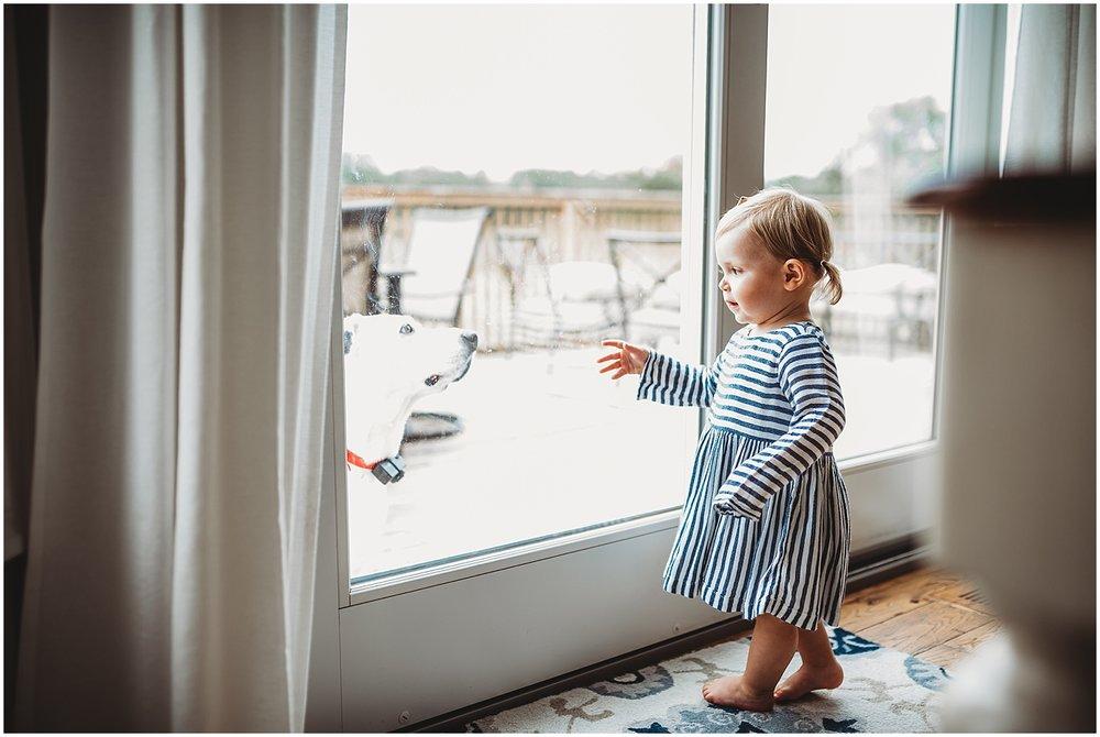 amanda lee photography | michigan lifestyle photographer | in-home newborn session