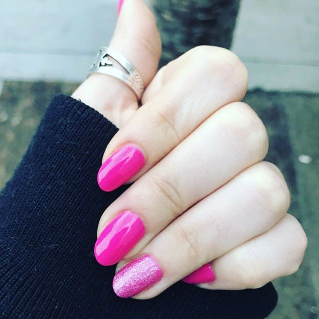 Pink sparkles for Valentines