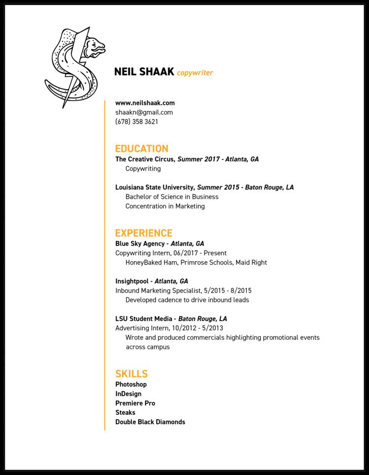 resume copywriter