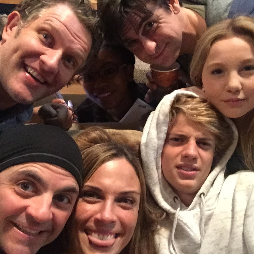 Me and my Henry Danger Family. What a happy little show it was...