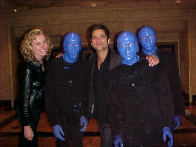 John Stamos and Rebecca Romaine came to see our show twice in one night! Yeah! We are that good!