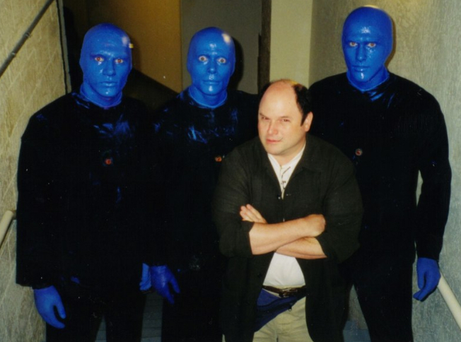 This was huge. ..Jason Alexander... I don't even know what to write here.