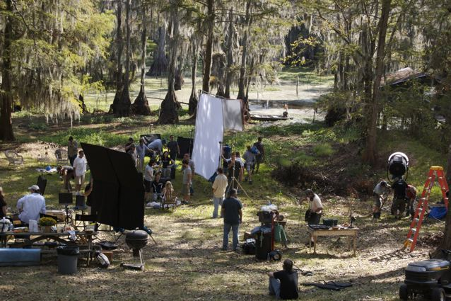 Shooting True Blood down in Louisana. Loved those swamps!