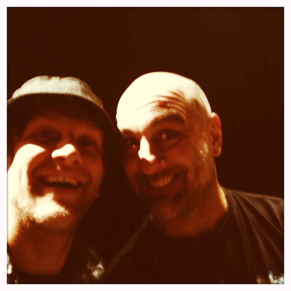 """Tim """"Herb"""" Alexander of Primus played in Blue Man Group with us for a few years in Vegas. To play with one of my drumming heros was humbling to say the least..."""