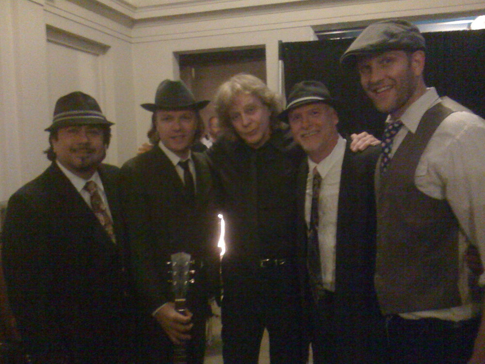 That time We were the back up band for Eddie Money up in Santa Clara, CA.