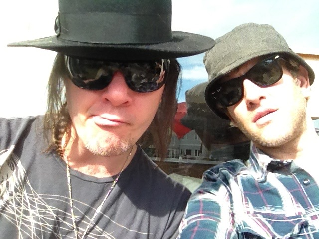 With my MAIN man and dear friend Robin Finck of Nine Inch Nails.