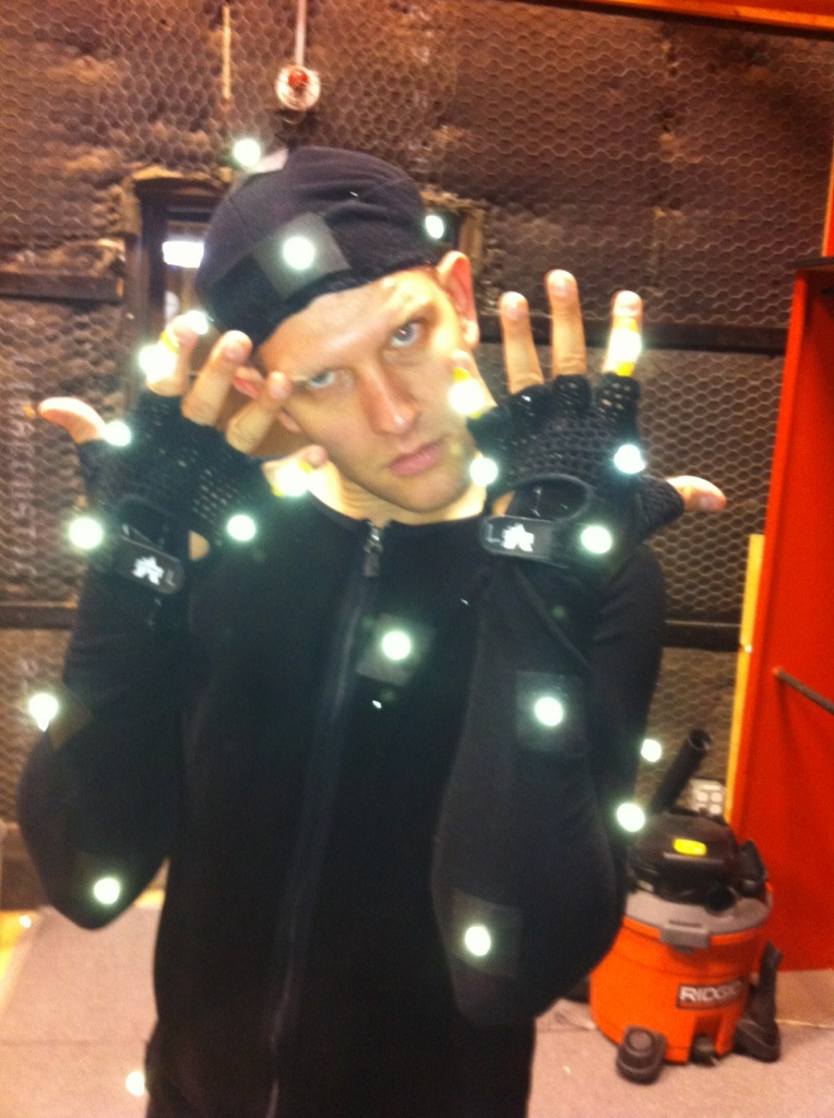That time I did motion capture for some Disney interstitials. So cool to see yourself as an alien in real time!