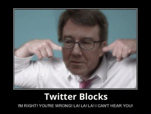 Ottawa's Mayor Jim Watson got into a twitter spat for blocking certain followers.