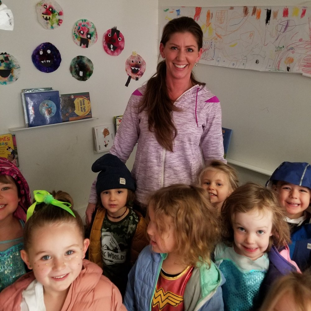 Miss Rainey  Rainey assists in the Willows classroom helping and teaching our preschoolers prepare for kindergarten!