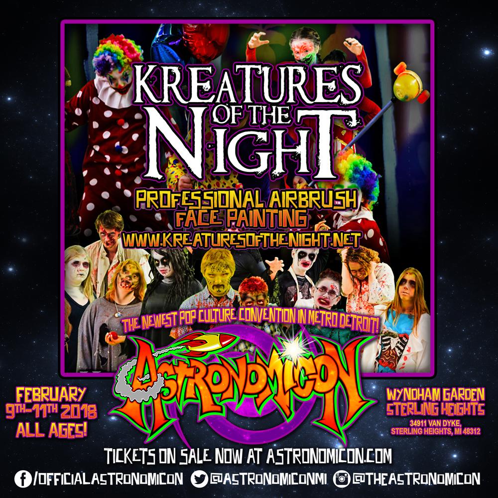 Kreatures Of The Night - www.kreaturesofthenight.net