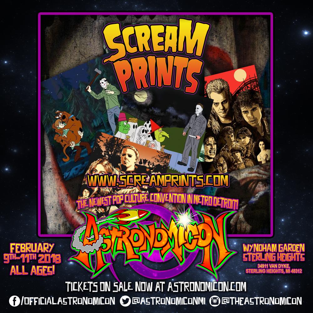 Scream prints -  screamprints.com