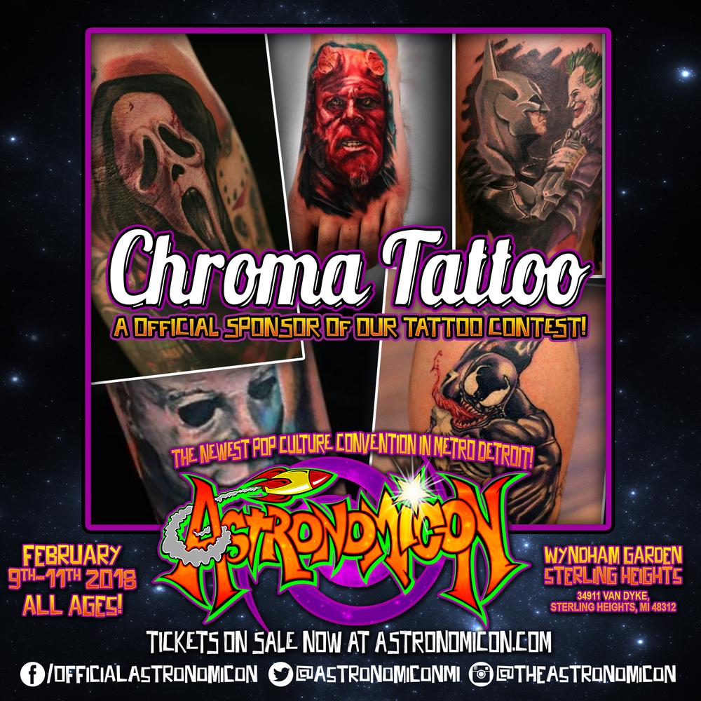Chroma Tattoo -  https://chromatattoo.com/index.html