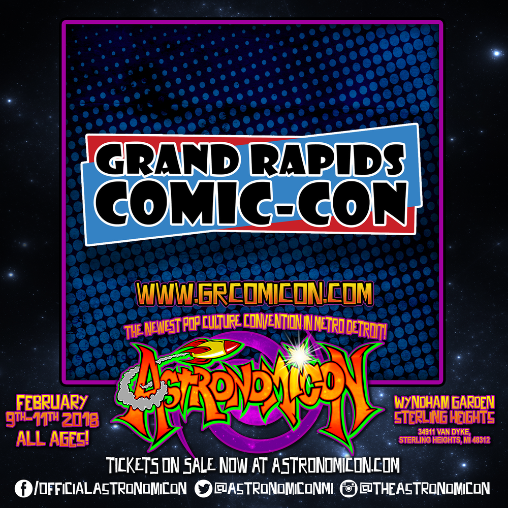 Grand Rapids Comic Con - http://www.grcomiccon.com/
