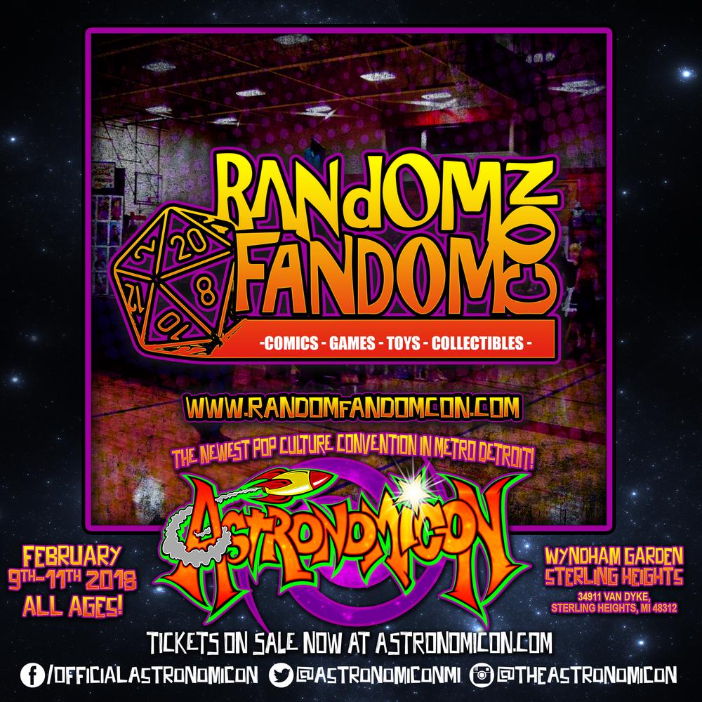 Random Fandom Con -  https://www.randomfandomcon.com/