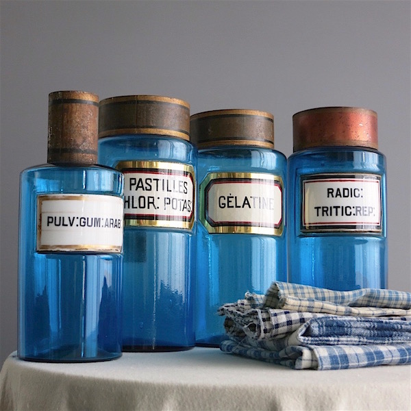 Blue apothecary jars.jpeg