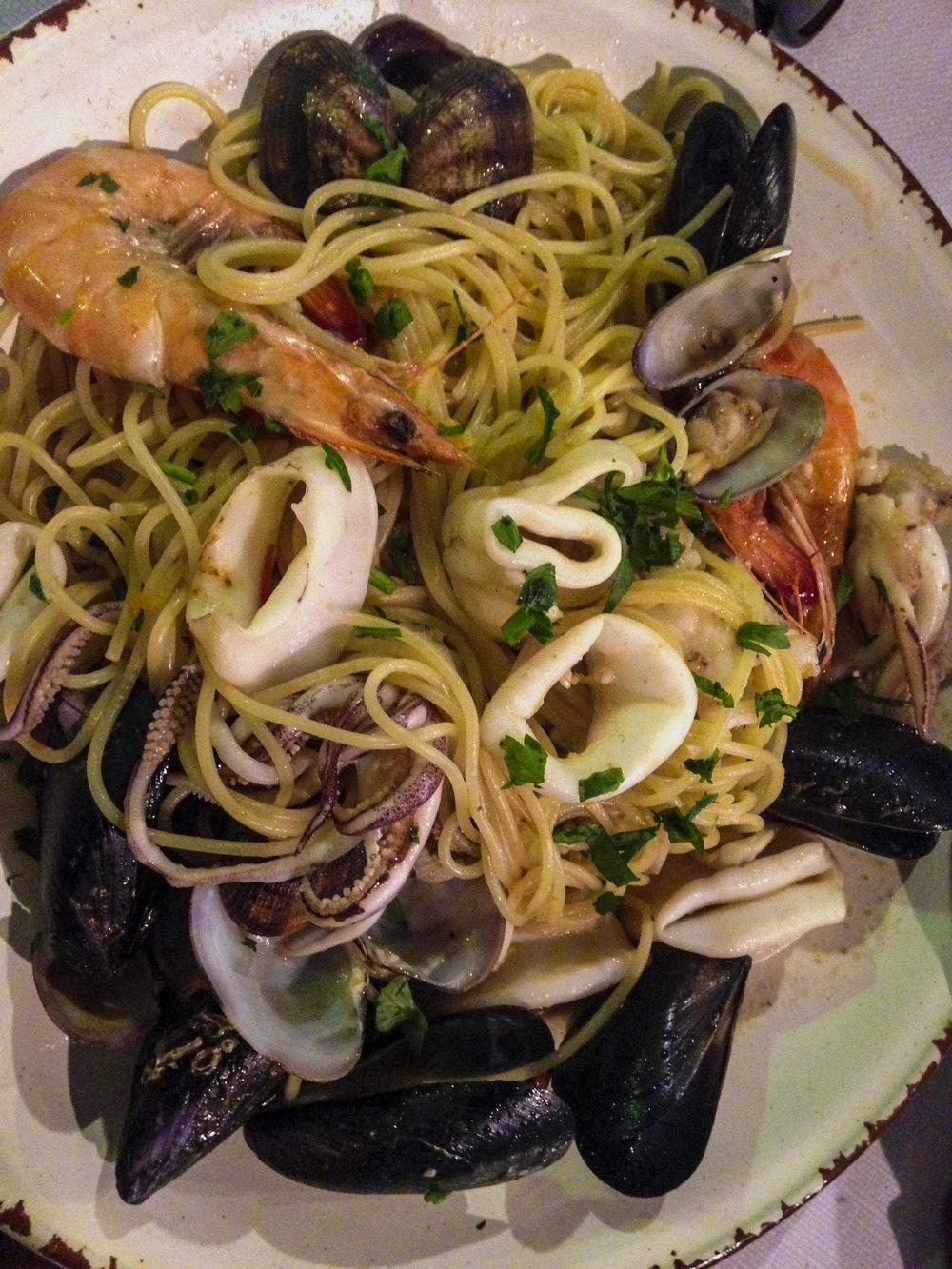 SPaghetti ai frutti di mare -