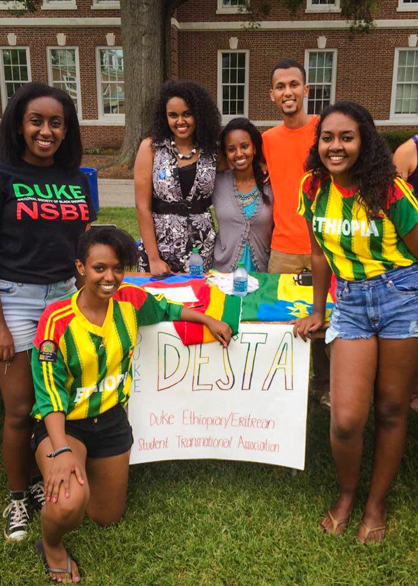 Join  Duke DESTA : Duke Ethiopian/Eritrean Student Transnational Association ( @dukedesta  on socials!)