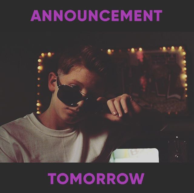 ANNOUNCEMENT TOMORROW ! 😬✌🏻