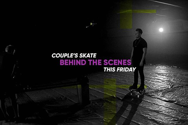 """Friday // Behind the scenes of my video """"Couple's Skate""""! #behindthescenes #couplesskate #musicvideo"""
