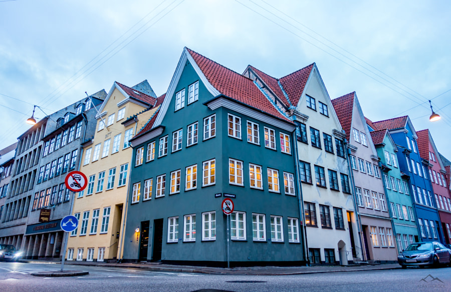 Colourful Houses, Copenhagen