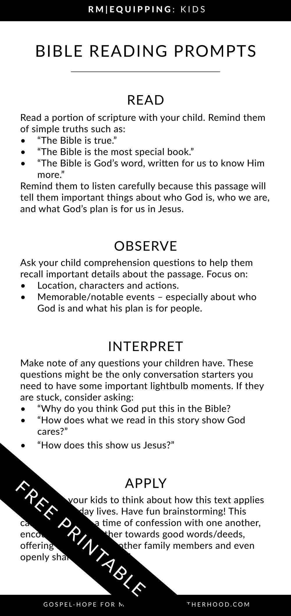 Bible Study Worksheets Floral Risen Motherhood