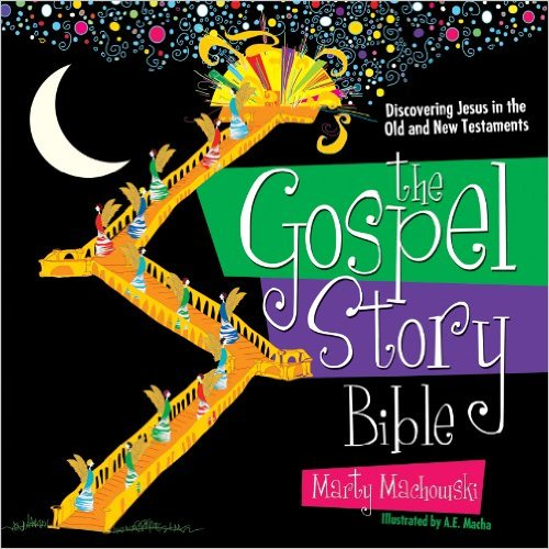 THE GOSPEL STORY BIBLE - It is easy to forget Jesus in the midst of frantic schedules, family squabbles, and conflicting priorities. But the truth is that he is the hero of every story, including these ordinary ones. The storybook introduces your family to many captivating people, places, and events from the Bible's Old and New Testaments, showing how each one ultimately points to Jesus. As you share these Bible Stories together, you and your family will meet Jesus and learn a new, life-changing way of recognizing Christ as the hero of every story.