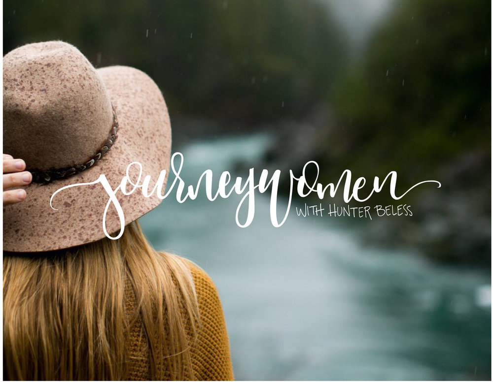 Hunter Beless from Journeywomen podcast interviews Laura about decorating and the gospel. Listen here.