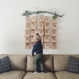 DIY Advent Calendar Example