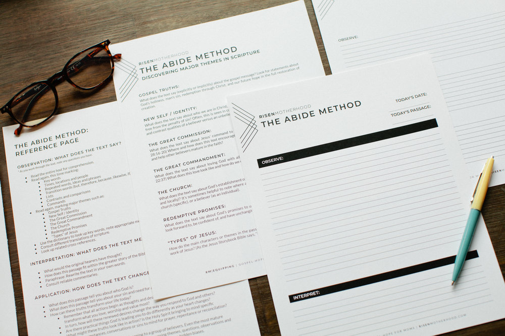The Abide Method