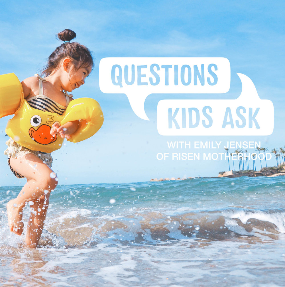 QUESTIONS KIDS ASK - The concept of having a relationship with Jesus, or Him being our best friend as we so often describe it for kids, is so hard to grasp for concrete thinkers when they know they can't actually see Jesus. How can we help them know that Jesus is a better friend than any person we could know on earth? Emily Jensen from Risen Motherhood joins us to talk about helping our kids understand what it means to know and love Jesus, even when we can't see Him.