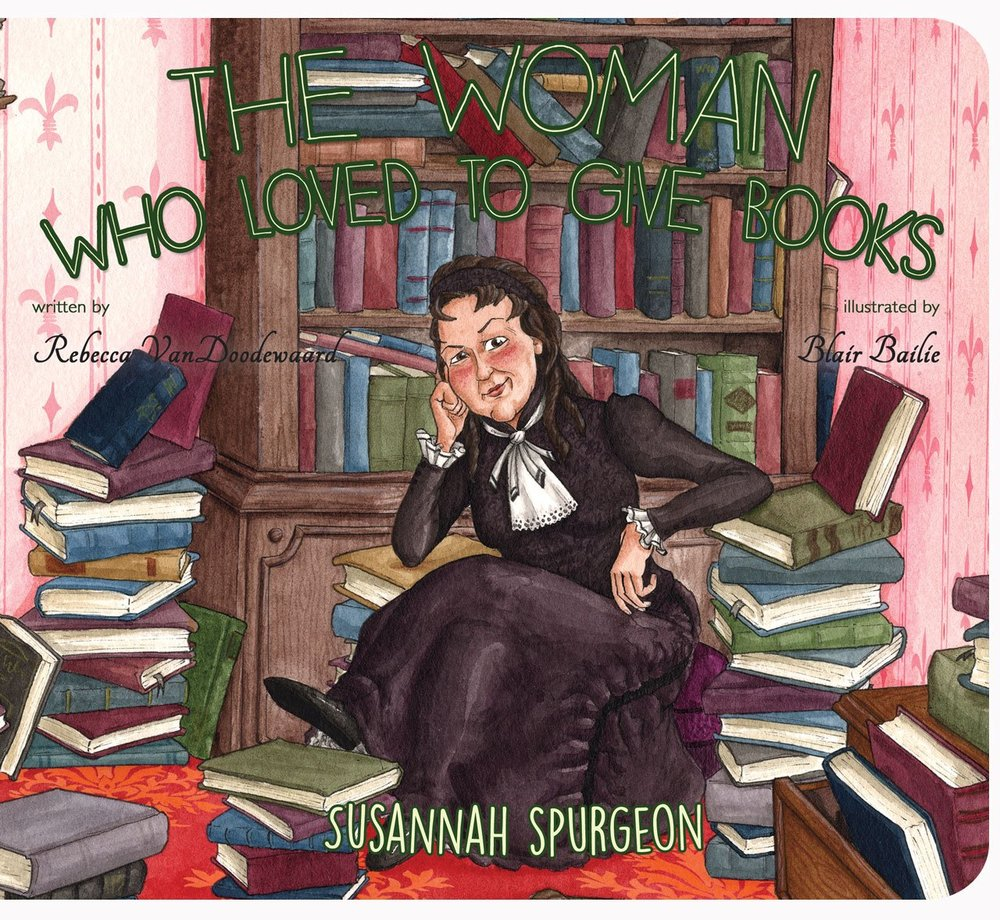 The Woman Who Loved to Give Books, Rebecca VanDoodewaard