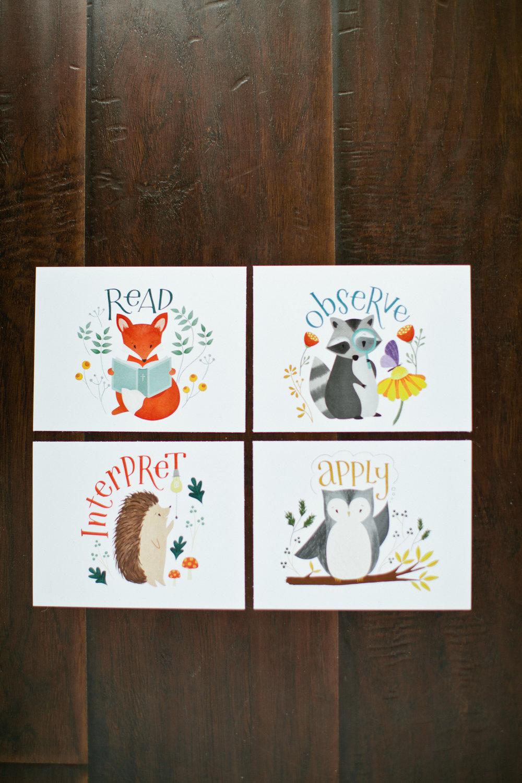 FREE R|M Kid's Abide Cards